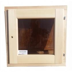Окно 40х40см термостекло