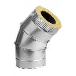 Отвод-сэндвич D150/230 мм 45 гр.
